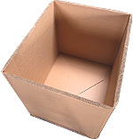 Коробка из гофрокартона для упаковки